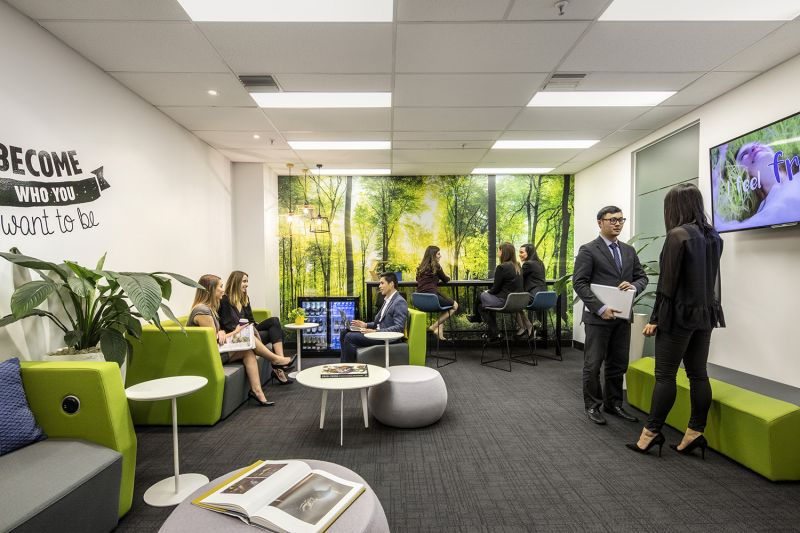 Prime location for a business wanting to lease an executive office space at St Kilda Rd Towers