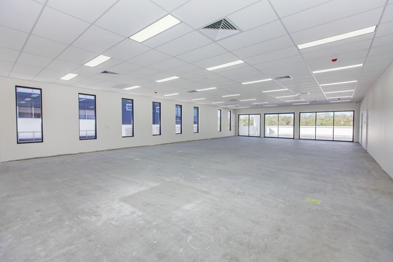First floor office in new building