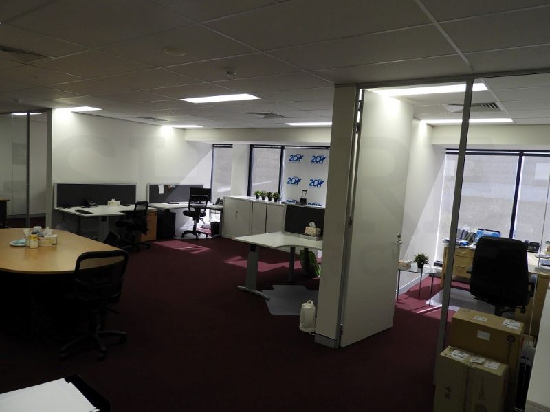 WELL POSITIONED OPEN PLAN OFFICE
