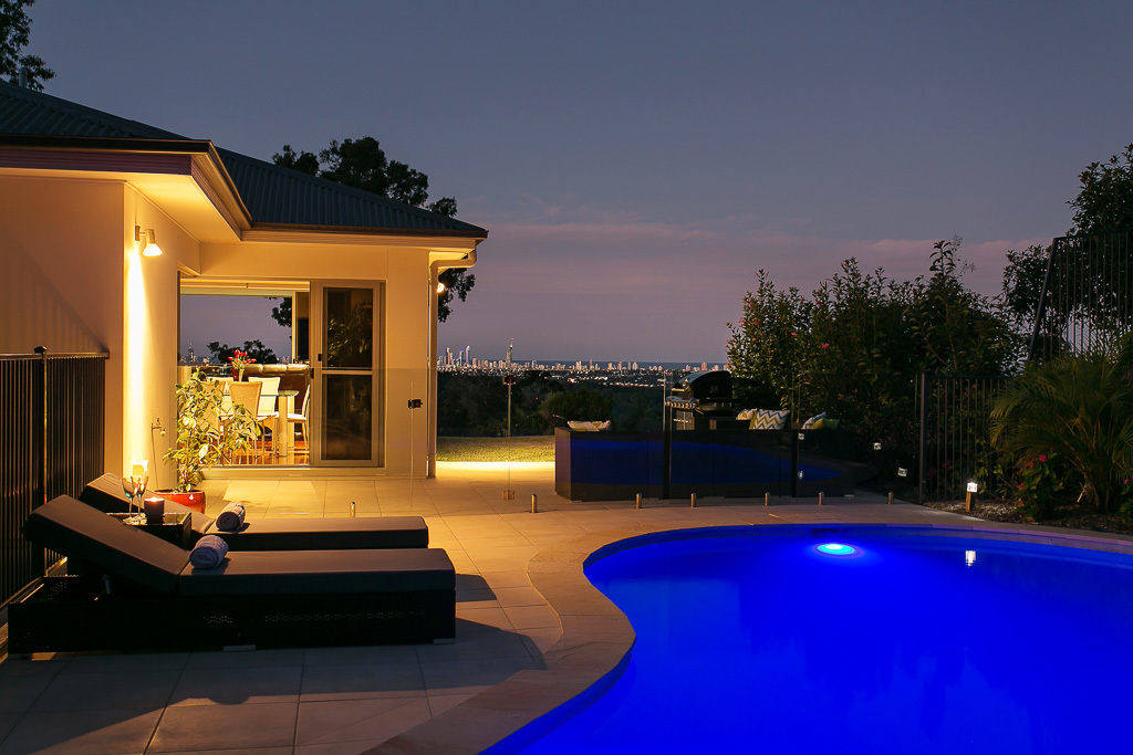 Sleek Contemporary Entertainer with Stunning Panoramic Coastal Views in a Prime Tallai Location