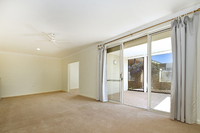 Open plan two bedroom home with a study/third bedroom plus a lovely private courtyard to enjoy.