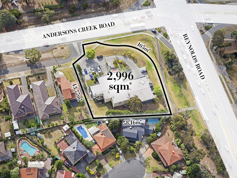 HUGE CORNER LANDHOLDING OFFERING PICTURESQUE HINTERLAND VIEWS IN MELBOURNE'S GOLDEN INNER EASTERN CORRIDOR