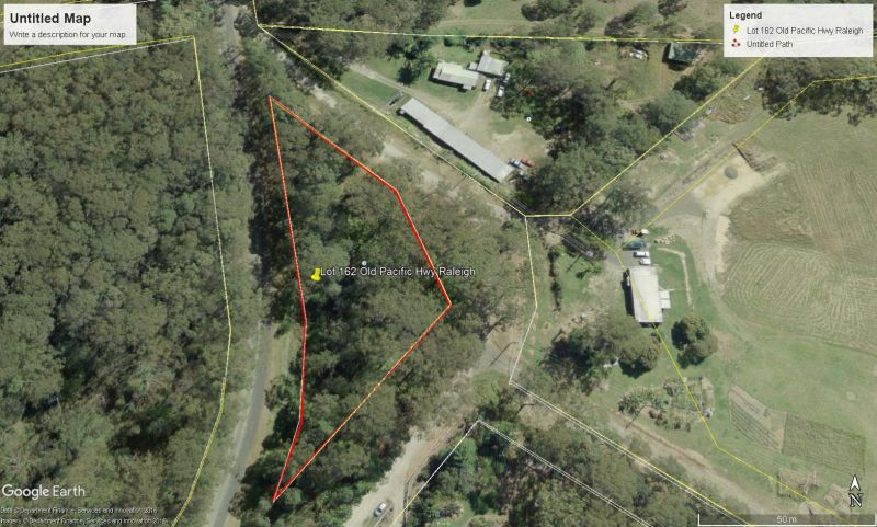 Small acreage minutes to Urunga - Build that dream home