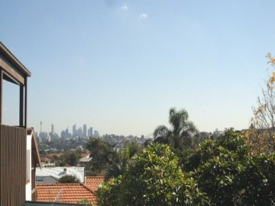 TIMBER FLOORING RECENTLY DONE & VIEWS TO HARBOUR BRIDGE & CITY