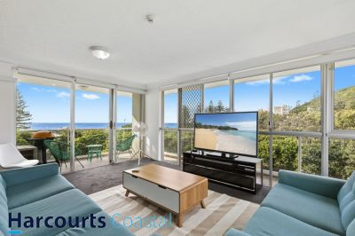 Fully Furnished (Burleigh Beach Tower) with Ocean Views