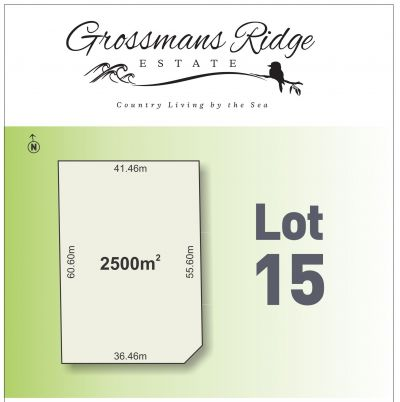 Lot 15/460 Grossmans Road, BELLBRAE