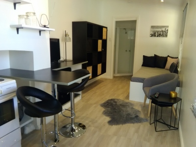 FULLY FURNISHED STUDIO/ batch pad-3/6/12 month lease