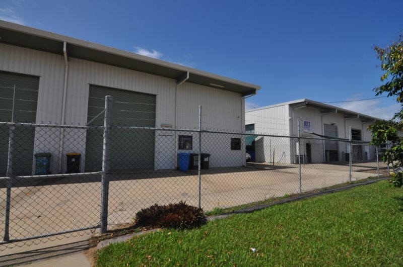 Neat Warehouse Unit with fenced yard