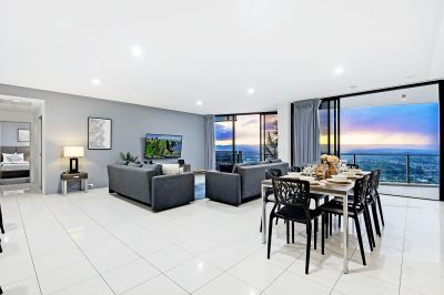 Luxurious 45th-floor Sub-Penthouse - Motivated Seller - Must Be Sold