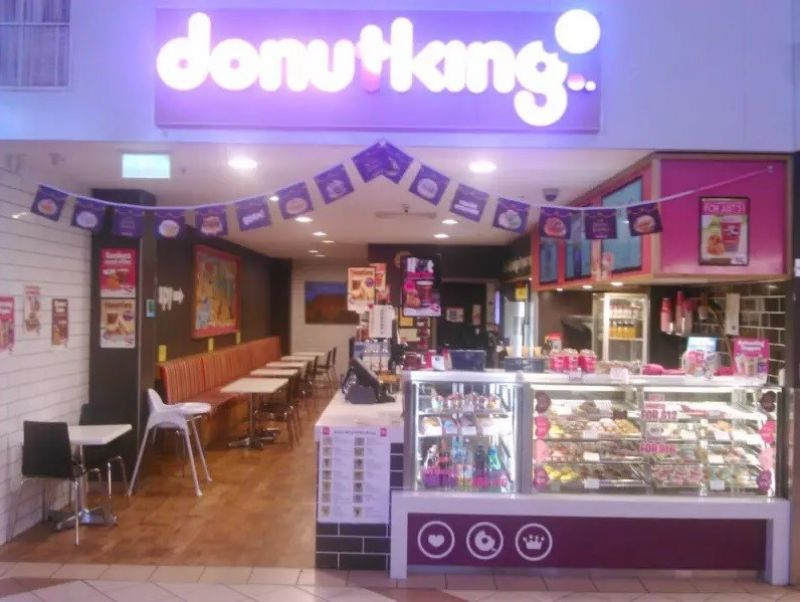 DONUT KING . PRIME LOCATION IN VERY BUSY ERINDALE SHOPPING CENTRE