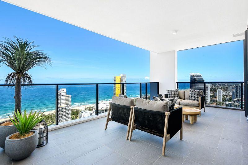 High Floor 3 Bedroom Ocean View Sub Penthouse