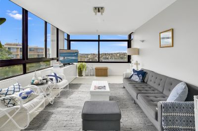 Stylish Apartment With Views From Every Room