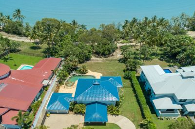 ABSOLUTE BEACHFRONT HOME – EXCLUSIVE ADDRESS