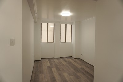 Large just renovated security apartment in prime location