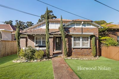 Character bungalow with golf course views in a walk to everywhere location