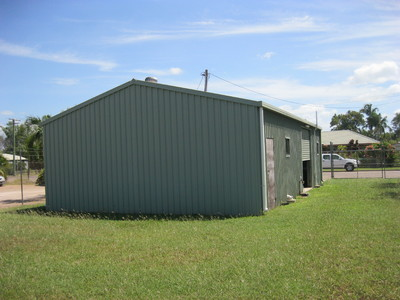 Commercial - Industrial shed for lease