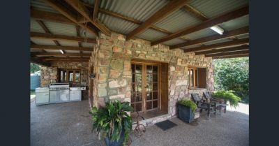 UNIQUE STONE HOUSE HORSE PROPERTY 133 ACRES