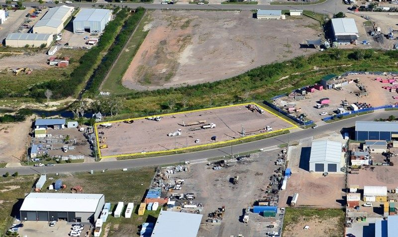 Security fenced hardstand industrial Lots for sale/lease