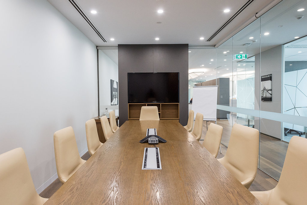 Premium corner suite office for 8 people with private meeting room in Melbourne CBD