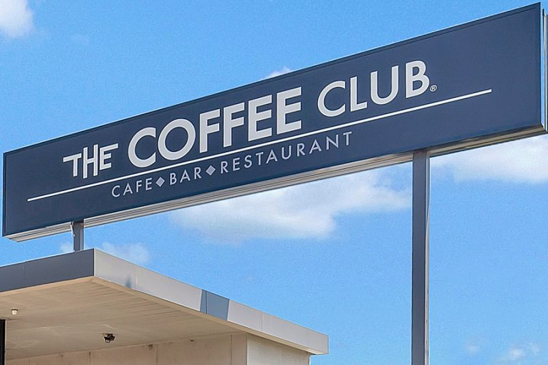 SOLD! Freestanding Coffee Club Investment - 10 Year Lease - Busy Highway Location