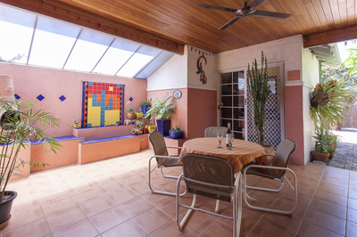 Private sanctuary with spacious separate entry studio