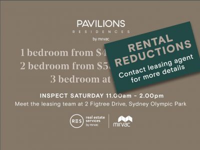 Premium Brand New 2 Bedroom Apartment in Pavilions By Mirvac