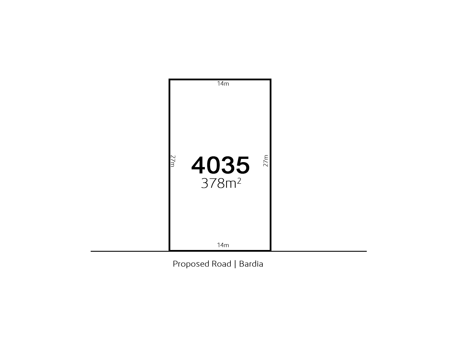 Bardia LOT 4035 Proposed Road | Bardia