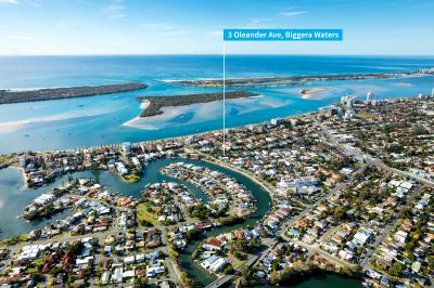 Original Home on Res B Zoned Land in One of Biggera Waters' Best Streets