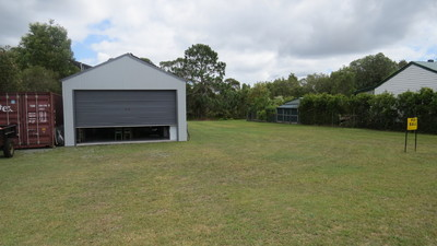 Land with 10A liveable shed