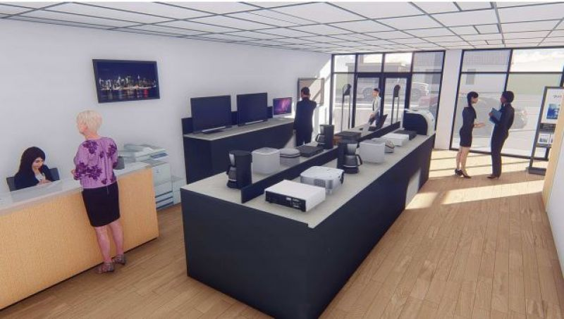 PRIME LOCATION - NEWLY REFURBISHED SHOWROOM / RETAIL / OFFICE