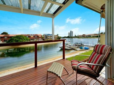 Fish from your own private deck!