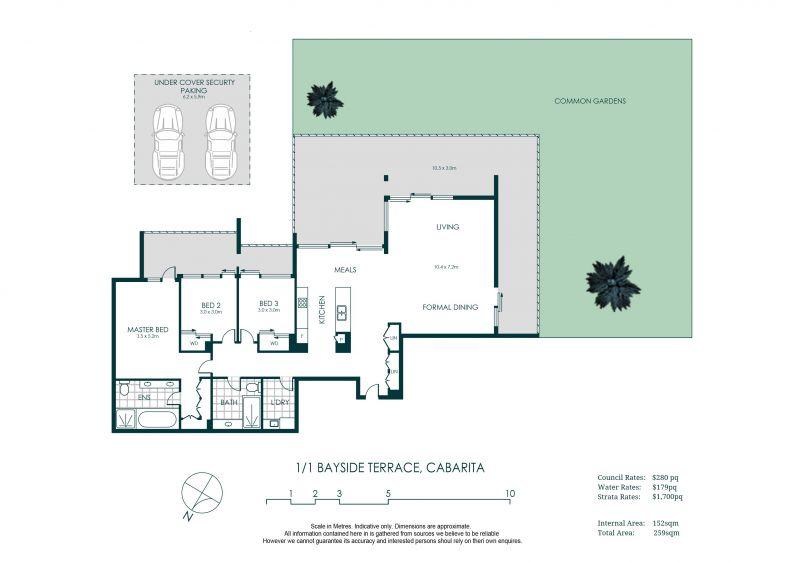 1/1 Bayside Terrace Cabarita 2137
