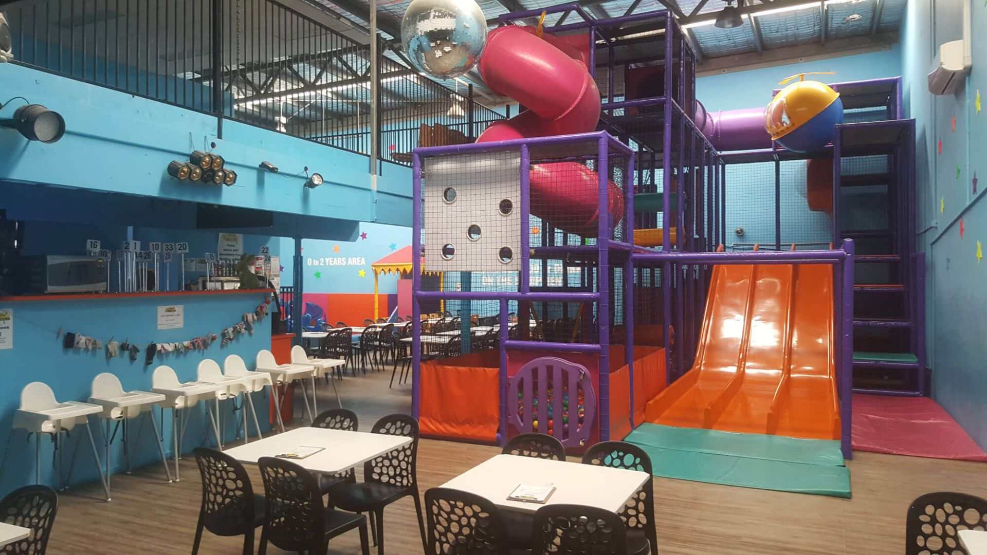 Little Stompers Family Cafe Play and Party Centre for sale