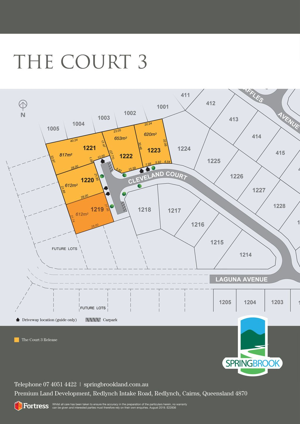 Lot 1219 Cleveland Court, Redlynch QLD 4870