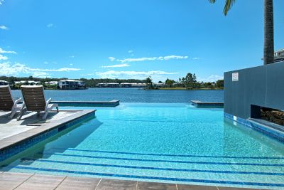 Immaculate North Facing Stunner With Water Views!