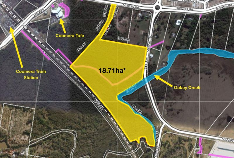 Prime 18.71 Hectare* Land - High Density Zoning
