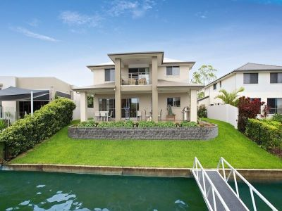 Extended Canal Outlook - Near New Family Home