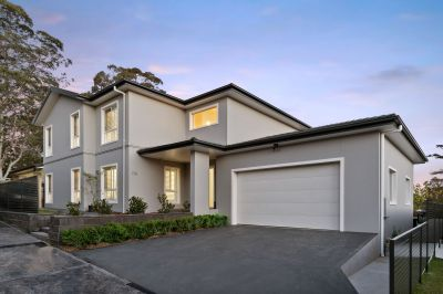 Contemporary home offering luxurious lifestyle