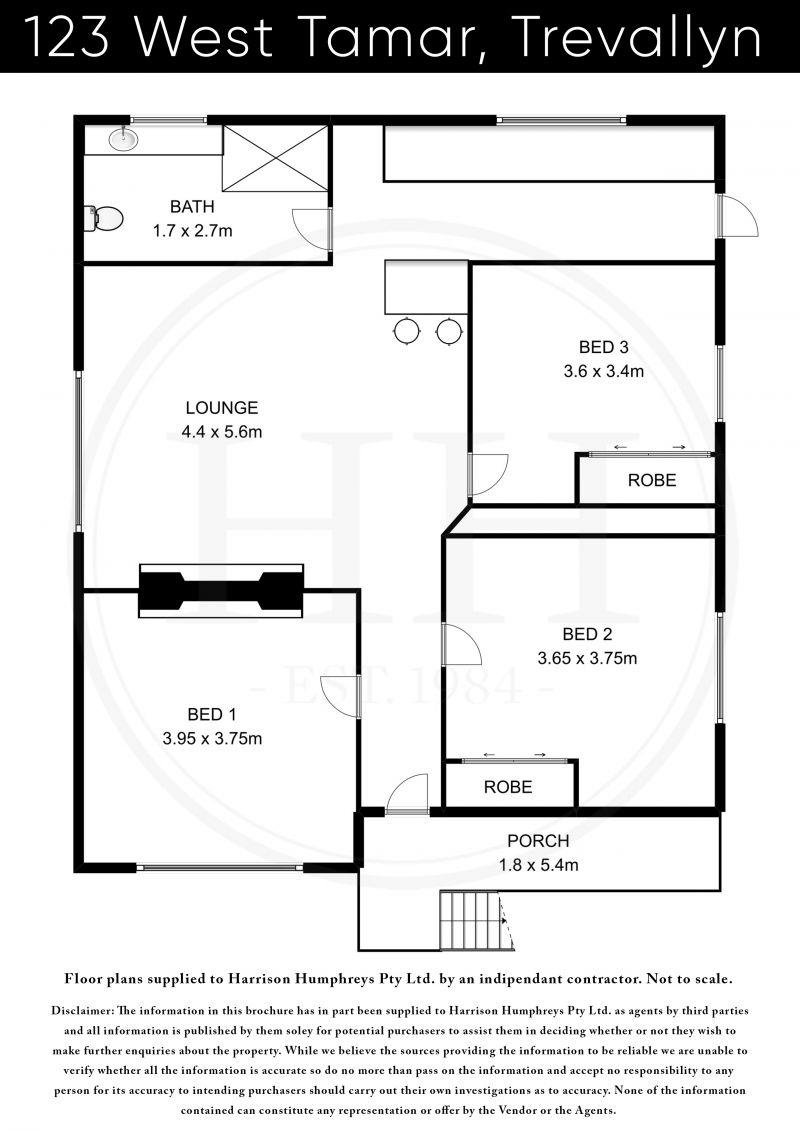 123 West Tamar Road Floorplan