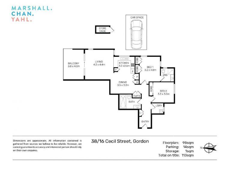 38/16 Cecil Street Gordon 2072