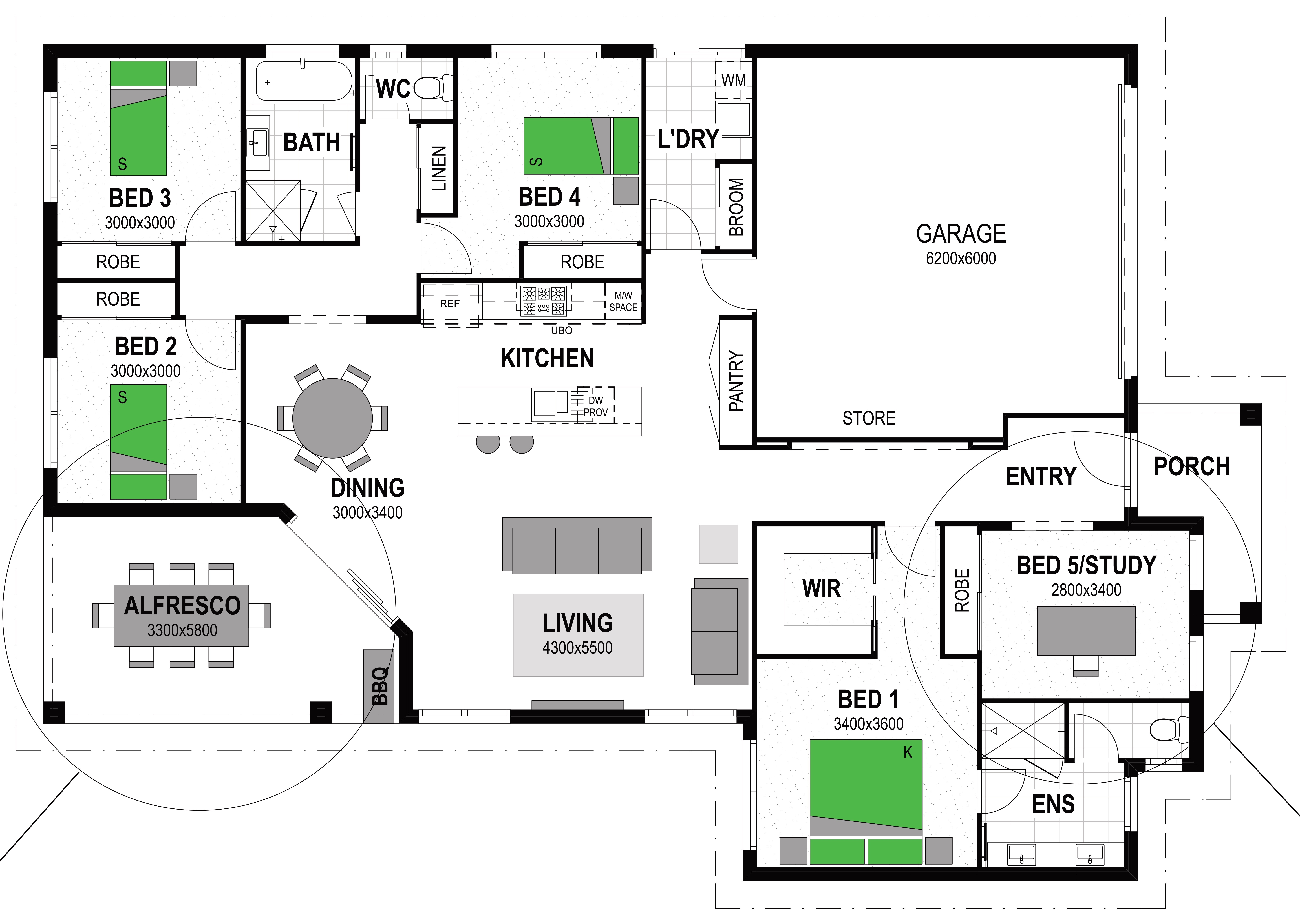 LOT 55 ROSEANNA COURT BALD HILLS Floorplan