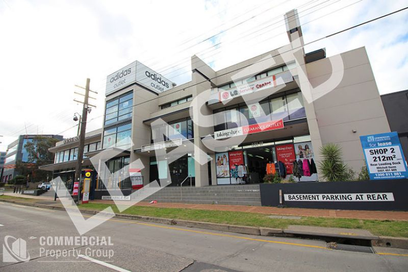 LEASED BY MITCHELL OWEN - BE AMONG THE BIGGEST BRANDS - RETAIL/SHOWROOM ON PARRAMATTA ROAD