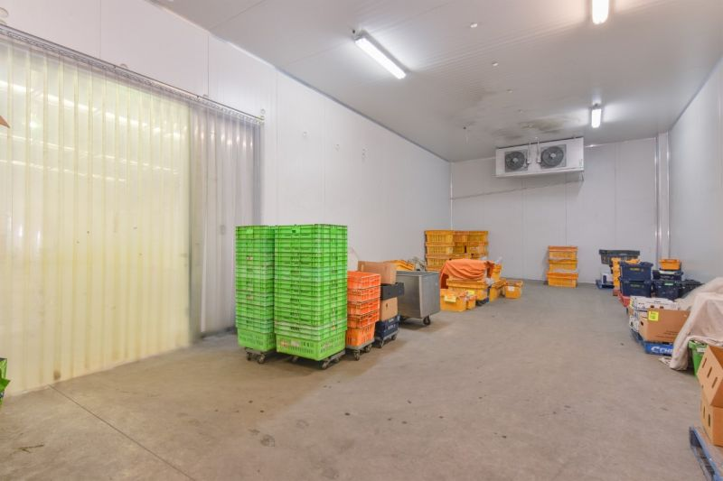 Standalone Industrial Warehouse with Cold Storage