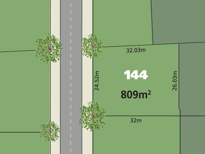 Glenmore Park, Lot 144 Proposed  Road