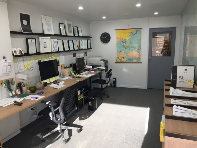Industrial unit with office