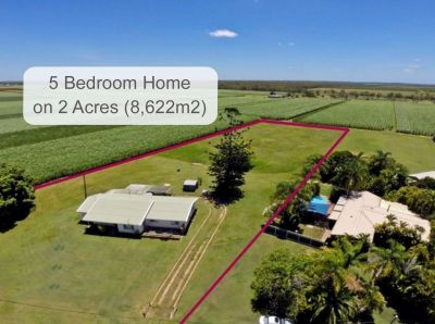 LARGE FAMILY HOME ON OVER 2 ACRES!