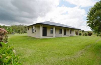 A modern Home located on 8.65 ha of prime land.