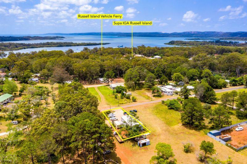 THE ONLY ZONED LOW IMPACT INDUSTRY SHED ON RUSSELL ISLAND