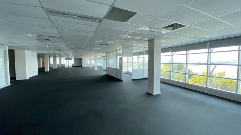 A Grade Office with Waterfront Views
