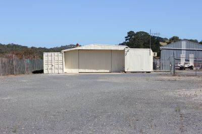 Yard Space Available with Storage Sheds